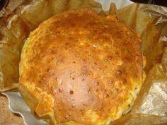 Простейший наливной пирог на кефире