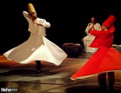 A Night of Absolute Mysticism at Bibliotheca Alexandrina... Tanoura Dancers!