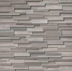 6 X 24 Marble Splitface Tile In Gray Fireplace Wall Ledger Stone