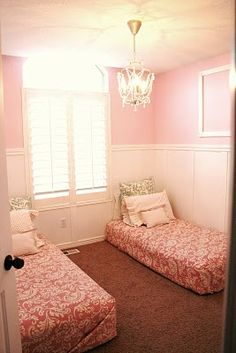 Cute Girls room  The House of Smiths - Home DIY Blog - Interior Decorating Blog - Decorating on a Budget Blog