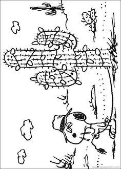 snoopy coloring pages 7 - Snoopy Coloring Pages