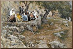 James Tissot, The Life of Christ -The Primacy of Saint Peter