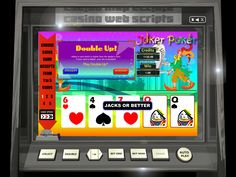 Buy Video Poker game for Online Casino - Joker Poker Video Poker Videopoker card Video Poker Games, Jacks Or Better, Online Poker, Casino Games, Online Casino, Best Games, Arcade Games, Games To Play, Joker
