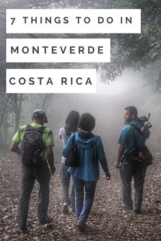 7 amazing things to do in Monteverde cloud forest, Costa Rica.    Costa Rica   Costa Rica travel blog   tips for traveling in Costa Rica