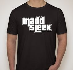 black tee – madd sleek