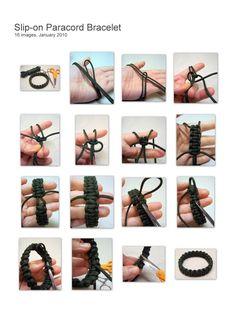 Paracord Bracelet @Anna Peterson for Samuel!