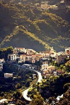 Ravello When you're in the little center of Ravello, for example on the terrace of Villa Maria, this is your viewI