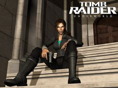 Tomb Raider Underworld 3d by Matteusz06