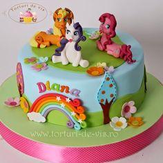 Torty - Viorica torty: torta Little Pony pre Diana