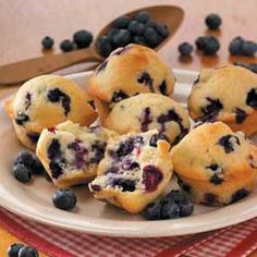 old-fashioned blueberry muffins...from taste of home simple & delicious cookbook
