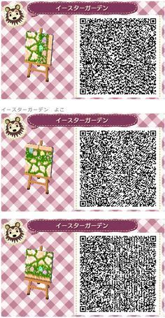 Animal Crossing: New Leaf QR Code Paths Pattern, Credit Animal Crossing: New Leaf QR Code Paths Pattern, Credit Animal Crossing 3ds, Animal Crossing Qr Codes Clothes, Play Kitchen Accessories, Acnl Paths, Motif Acnl, Ac New Leaf, Post Animal, Nintendo, Purple Pattern