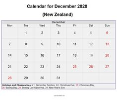December 2020 New Zealand calendar with holidays and festivals available here for free download. #december #calendar2020 #december2020 #newzealand #festivals November Holidays, All Holidays, December, Canada Calendar, Calendar 2020, Festival Download, Quote Template, Calendar Wallpaper, Holiday Calendar