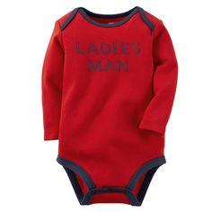 Baby Boy Ladies Man Bodysuit | Carters.com