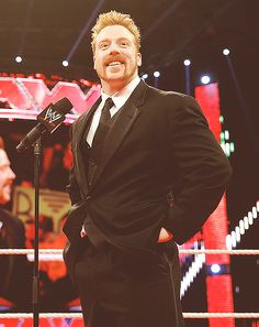 Sheamus in a tux? So this is what my wedding day will look like. Smackdown Vs Raw 2011, Wwe Sheamus, Wwe Superstar John Cena, Jack Swagger, Redhead Men, Best Wrestlers, Watch Wrestling, Celtic Warriors, Wwe Champions