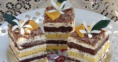 Hungarian Desserts, Hungarian Recipes, Hungarian Food, Tart Recipes, Dessert Recipes, Cooking Recipes, Diabetic Recipes, Tiramisu, Muffin
