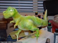 Tutorial of my T-Rex sculpting, Painting and Piping FX-fog