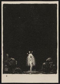 John Bauer. (Lithograph)