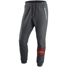Iowa State Cyclones Nike Stadium AV15 Fleece Pants - Charcoal