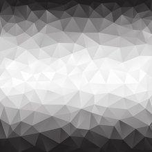 Wall mural - Polygonal Grey Shades
