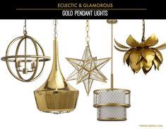 Decorating diary : glamorous light fixtures — The Decorista