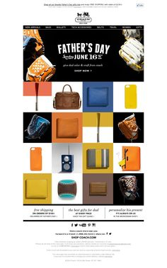 Now At Coach: The Father's Day Gift Shop