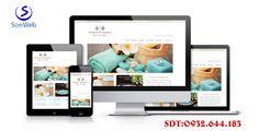 Thiết kế website spa làm đẹp chuẩn seo giá rẻ