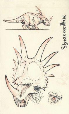 Styracosaurus 01 by JakeParker on DeviantArt