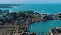 ploumanac'h côtes de granit rose Bretagne