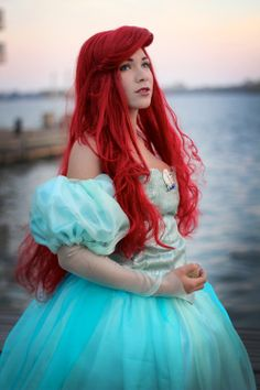 Ariel The Little Mermaid Cosplays http://geekxgirls.com/article.php?ID=1533
