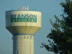 Branson water tower