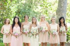 Bridesmaid style...you're getting the point. =)