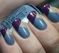 Nail Art - Color Block - Photo 51 : Album photo - alfemminile