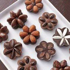 Candy clusters are so much prettier when you mold them using Candy Melts Candy and the Daisy Silicone Mold! Each candy or nut topping is kept in its own petal shape for an easy-to-make, perfectly-formed flower.