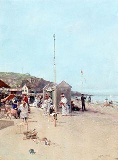 Luigi Loir - On the Beach
