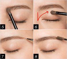 眉メイク・描き方をレクチャー! 眉が濃い薄い左右非対称でも失敗しないコツ | マキアオンライン(MAQUIA ONLINE) Japanese Eyebrows, Lipstick, Makeup, Beauty, Make Up, Face Makeup, Lipsticks, Diy Makeup, Maquiagem