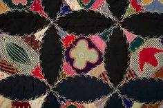 Robbing Peter to Pay Paul Sampler Quilt: Ca. 1890