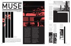 Bar magazine layout
