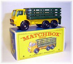 Matchbox 4d Dodge Stake Truck (1967)