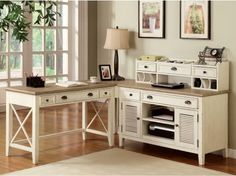 Have to have it. Riverside Furniture Coventry Home Office Set - $623.25 @hayneedle