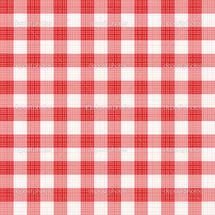 Легко tilable (вы видите 4 плитки) красный ситцевом повторить узор (печати,...