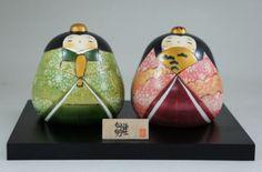 Usaburo Kokeshi Japanese Wooden Doll 10-54 Kikuhina (Hina Ningyo Dolls) 185 €