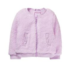 Toddler Girl Warm Lavender Fuzzy Jacket by Gymboree Gymboree, Toddler Outfits, Kids Outfits, Toddler Girls, Girl Closet, Line Jackets, Affordable Fashion, Indie, Bomber Jacket