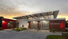 Modern Fire Station. Yes to innovation