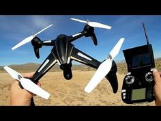 WLToys Q393A Dragonfly FPV Drone Flight Test Review
