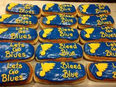 Yum. Be sure to start your morning off right! #WeAllBleedBlue.