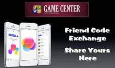Game Center (iOS) - Friend Code Exchange
