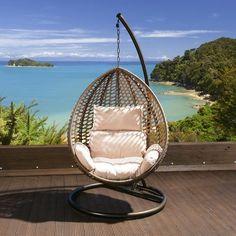 Hanging garden chair