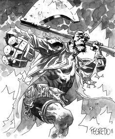 Hellboy by Duncan Fegredo
