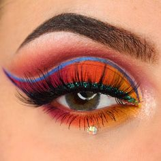 """239 Likes, 12 Comments - Sandy (@naliah.lightz) on Instagram: """" Tropical Sunrise  ▪️ PRODUCTS USED ▫️BROWS/CEJAS- ▪️Dipbrow pomade in ebony by…"""""""