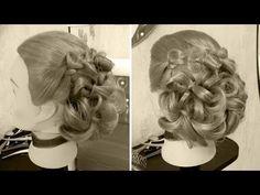 Причёска - Весна - YouTube